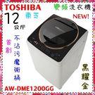 【TOSHIBA東芝】12KG直驅超級變...