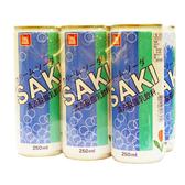 韓國【SAKI】奶昔乳酸飲料 250ml×6入