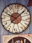 《齊洛瓦鄉村風雜貨》美式仿舊復古鐵製大掛鐘 時鐘 壁掛鐘
