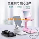 金屬桌面手機支架ipad平板電腦支撐座床頭【輕派工作室】