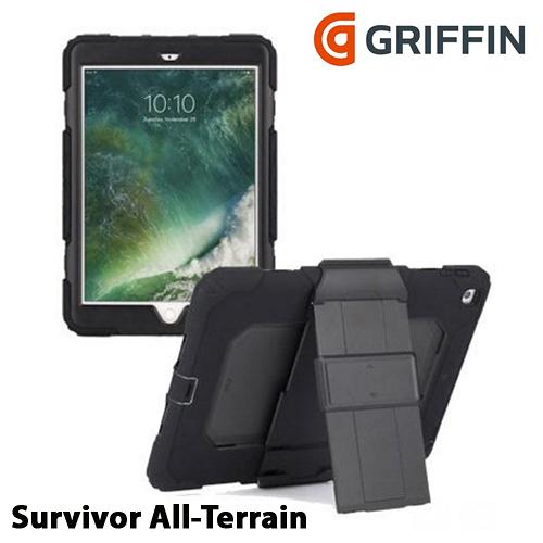 Griffin Survivor All-Terrain iPad 9.7吋 (2017) 四重防護保護套組