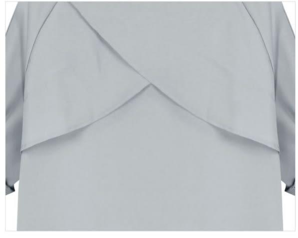 (現貨+預購 RN-girls)-早秋純色反折袖風衣外套