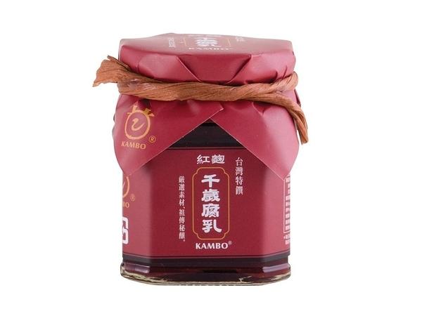 甘寶~紅麴千歲腐乳220克/罐