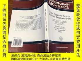 二手書博民逛書店罕見ar Algebraic Groups and their RepresentationsY171500