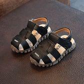 男童涼鞋2018新款韓版夏季兒童2寶寶0涼鞋女1-3歲防滑4軟底5包頭 東京衣櫃