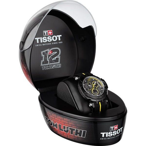 全球限量1212只 TISSOT 天梭 T-RACE THOMAS LUTHI 2017湯瑪斯‧盧蒂限量版賽車錶 T0924173706701