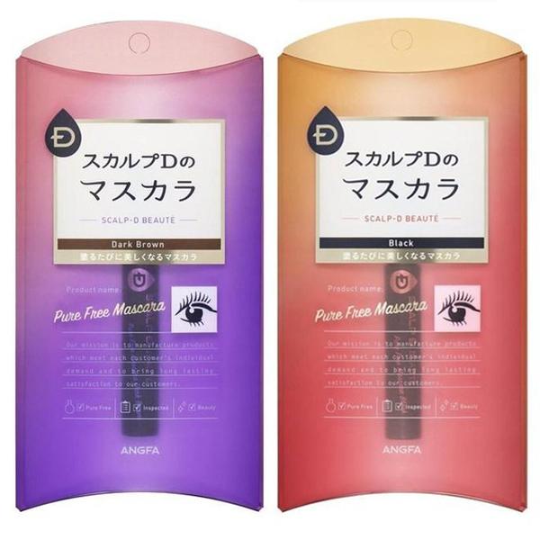 【日本 ANGFA】Beaute Pure Free mascara SCALP-D 睫毛膏 添加美容液 黑色、深棕色