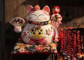福緣貓開業禮品創意招財貓日式店鋪收銀台擺件陶瓷家居實用裝飾品美好生活居家館