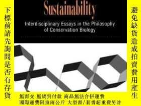 二手書博民逛書店Searching罕見For SustainabilityY256260 Norton, Bryan G. C