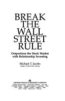二手書 《Break the Wall Street Rule: Outperform the Stock Market by Investing as an Owner》 R2Y ISBN:0201627035