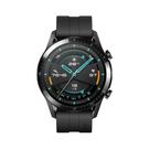 【贈原廠Mini藍芽音箱+運動臂帶+鋼保】HUAWEI Watch GT2 運動版 46mm (曜石黑)