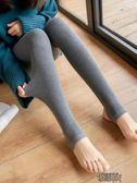 秋褲秋冬季踩腳打底褲女外穿新款灰色薄款棉褲加厚秋褲女內穿保暖【街頭布衣】