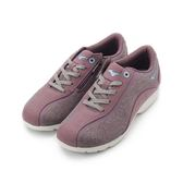MIZUNO LS802 寬楦皮面健走鞋 紫 B1GF183267 女鞋