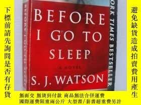 二手書博民逛書店Before罕見I Go to SleepY85718 SJ W