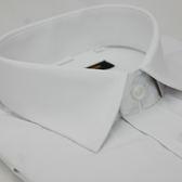 【金‧安德森】白色細斜紋窄版短袖襯衫