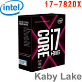 Intel英特爾 Core i7-7820X X 系列處理器