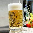無鉛玻璃超大1L升啤酒杯扎啤杯1000ml 帶把加厚款大號500英雄杯 年尾牙提前購