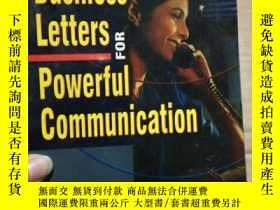 二手書博民逛書店BUSINESS罕見LETTERS FOR POWERFUL C