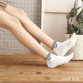 五指襪 五指襪女船襪純棉短襪二條杠可愛棉襪女分腳趾襪卡通運動襪薄LB46【123休閒館】