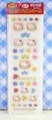 【震撼精品百貨】Hello Kitty 凱蒂貓~KITTY貼紙-轉印貼紙-玫瑰