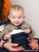 睡袋嬰兒秋冬四季通用純棉保暖寶寶抱被幼兒童加厚防踢被鯊魚睡袋 一件免運盛典