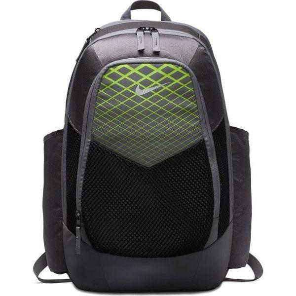 NIKE Vapor Power 後背包 旅遊 雙肩 訓練 休閒 氣墊 胸扣設計 水壺 灰 黑 綠【運動世界】BA5479-099