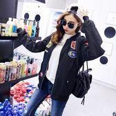 飛行夾克 韓版 五星飛機棒球外套 紐約周