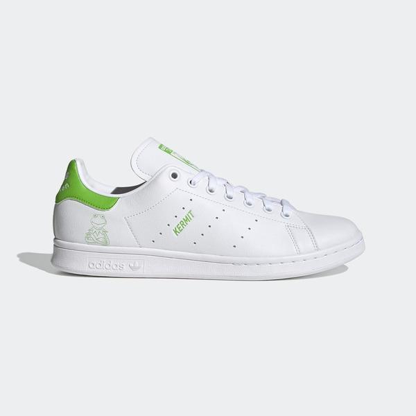 Adidas Stan Smith-or鞋-04 [FX5550] 男鞋 運動 休閒 科米蛙 經典 皮革 愛迪達 白 綠