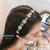 頭飾LACELIPS 復古宮廷鑲鉆名媛氣質網紅ins外出百搭發飾頭箍頭飾女  博世