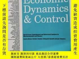 二手書博民逛書店journal罕見of economic dynamics & control 2020年1月 英文版Y424