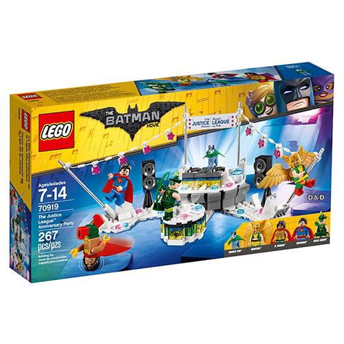 樂高積木 LEGO《 LT70919 》Batman Movie 樂高蝙蝠俠電影系列 - The Justice League Anniversary Party