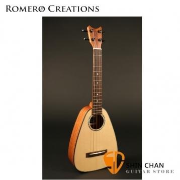 【23吋烏克麗麗】ROMERO CREATIONS Tiny Tenor【面單板】 【系列:Pepe Romero】
