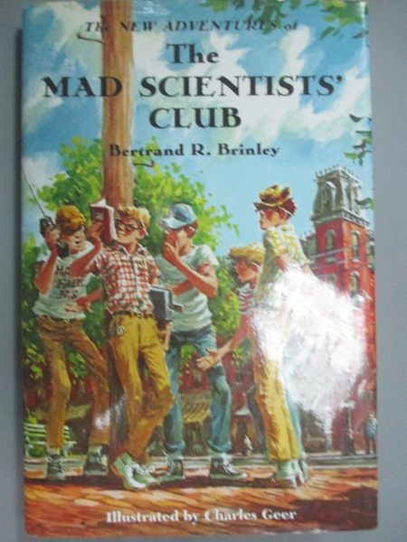 【書寶二手書T7/少年童書_NNZ】The New Adventures of the Mad Scientists'