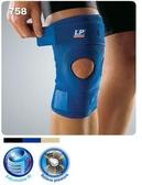 【宏海護具專家】 護具 護膝 LP 758 包覆調整型膝部束套 單一尺寸 (1個裝) 【運動防護 運動護具】