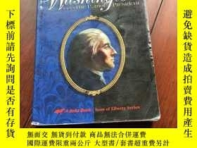 二手書博民逛書店A罕見biography of George Washington The patriot president