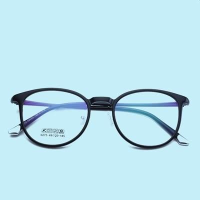 鏡架(圓框)-舒適輕巧復古潮流男女平光眼鏡6色73oe40[巴黎精品]