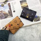 迷你錢包女短款多功能折疊女式軟皮夾零錢包