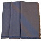 茱麗葉精品【全新現貨】GUCCI 281942 雙G 羊毛絲綢披肩圍巾.藍咖