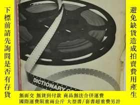 二手書博民逛書店Dictionary罕見of Film Terms by Fra
