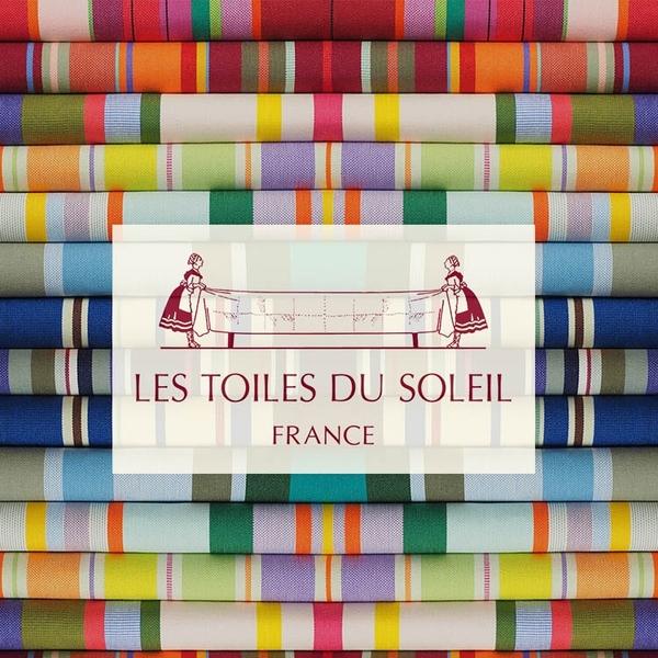 LES TOILES DU SOLEIL 法國蘇蕾包-皮標船型收納包-卡布里島