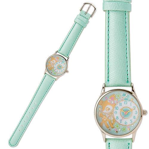《Sanrio》哈妮鹿PU皮革錶帶女童手錶DX(小鳥) 699691
