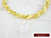 9999純金 金飾 黃金手鍊 手鍊
