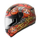 【東門城】ZEUS ZS811 AL35 達摩(消光黑紅) 全罩式安全帽