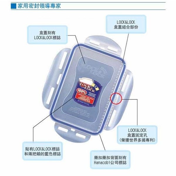 樂扣樂扣PP保鮮盒/1.5L(HPL812H)