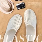半拖鞋 洞洞鞋包頭EVA居家女休閒防滑沙灘涼鞋拖鞋軟底戶外男 夏 名創家居館