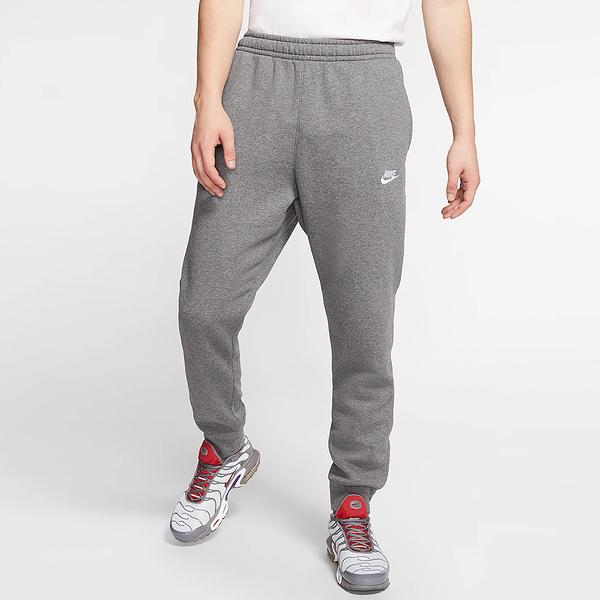 Nike Sportswear Club 男裝 長褲 慢跑 休閒 刷毛 保暖 拉繩 縮口 灰【運動世界】BV2672-071