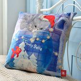 義大利Fancy Belle X DreamfulCat《聖誕節快來》麂皮靠墊