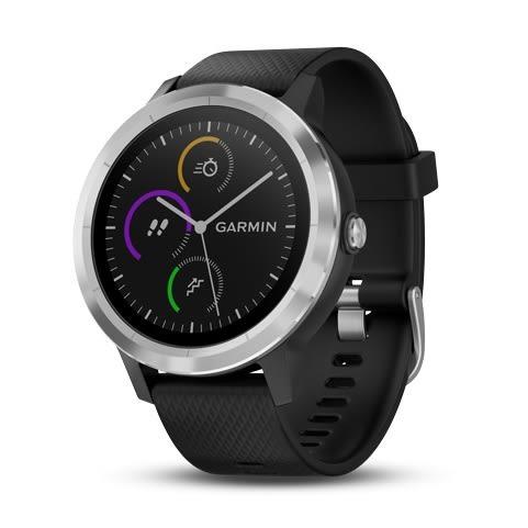 GARMIN vivoactive 3 行動支付心率智慧手錶(俐落黑)