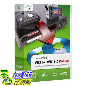 [美國直購 ShopUSA]  VHS to DVD 5.0 Deluxe$2915