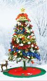 85折1.5米風格圣誕樹人造籬笆氣球壁掛節日用品開學季